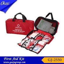 Guarantee of in time delivery fashion colorful 100 person first aid kit
