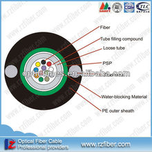 Professional manufacture OD7.5mm Tensile strength 1200 gyxtw outdoor 10 48 32 96 core optical fiber cable