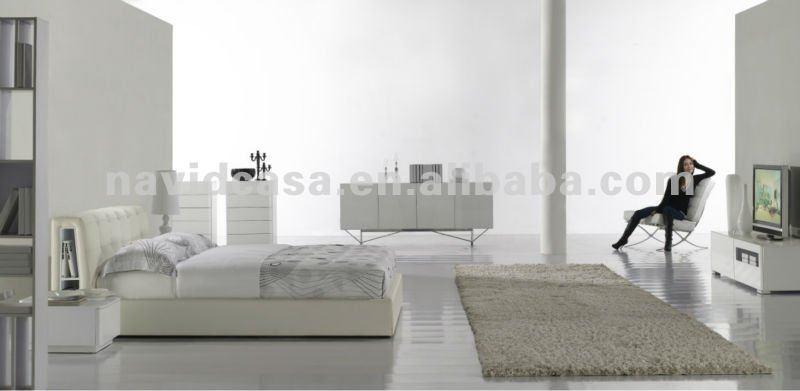 bianco f6189 camera da letto mobili set per adulti-Camera da letto ...
