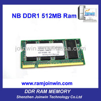 Lifetime warranty ETT original chips ram memory 512mb ddr 333mhz sodimm