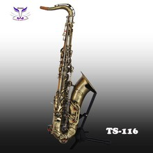 Tenor saxophone of Antique brass