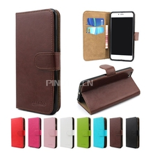 Luxury crystal grain leather mobile phone case for Samsung Galaxy S6 Edge plus, flip wallet case for Samsung Galaxy S6 Edge plus