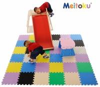 Bathroom tile design plastic floor puzzle mat