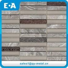 Matériaux de Construction du bâtiment de liste pierre résine verre main peinture mosaïque carreaux