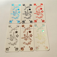 Water transfer wholesale cell phone jewelry sticker, diy mobile phone pear sticker, cell phone case stickers