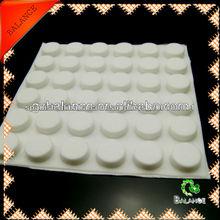 Goma transparente auto-adhesivo pies Bumpons