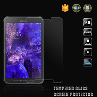 Hot sale !! 0.26mm 9H Hardness 2.5D Anti-Fingerprint Premium Real tempered glass screen protector for Samsung Galaxy Tab Active