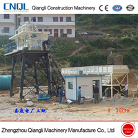Ready Mix HZS35 Fix Concrete Batching Plant Machine for Sale