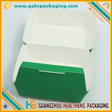 factory custom food grade hot dog paper box