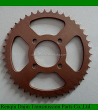 front sprocket for motorcycle honda unicorn chain and sprocket kits