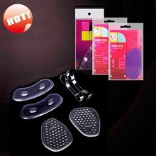 silicone heel grips invisble gel metatarsal foot pads