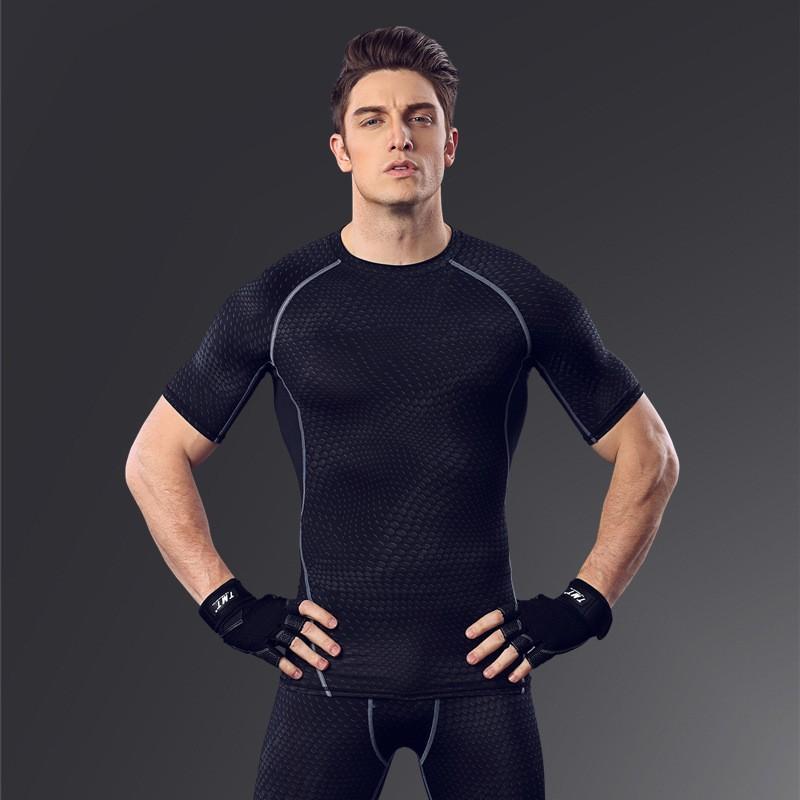Custom Fitness Apparel Men's GYM Sport T Shirt Factory 4