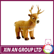 Forest animals wholesale ,lovely deer stuffed toy ,,creative cute Sika deer stuffed toy 2015