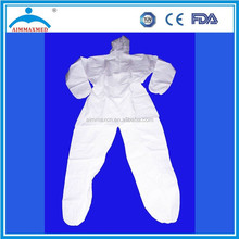 one piece non woven disposable coverall USD 0.1 disposable coverall