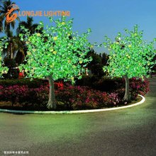 3200 leaves 48 fruits 1080 led H: 2.5m man-made led tree