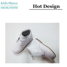 2015 latest design china brand casual shoes wholesale leather boy toddler shoes