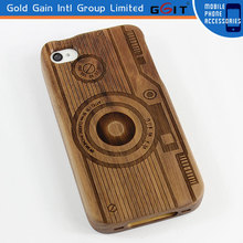 2015 Stylish wooden fashion design for iphone 5 5s case wood