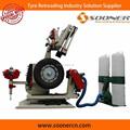 utilizado automático neumático recauchutado equipo de la máquina de pulido