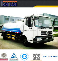 Dongfeng 4x2 10000 liters stainless steel water tank truck for sale in dubai
