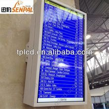 55 inch TFT 2000 nits all weather airport outdoor lcd tv outdoor kiosk