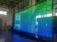 2015 xxx images high brightness transparent led net screen xxx pho