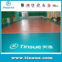 PVC volleyball floor