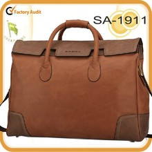 best quality vintage convient carrying leather travel bag, duffel bag