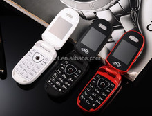 Hot sale 1.44 inch mini size flip mobile phone with free key