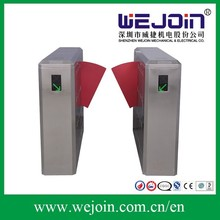 Automatic magnetic readers flap barrier Metros/ Bus Stations/Subway access control system