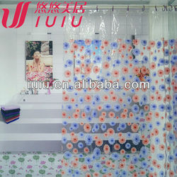 vinyl shower curtain printing pvc shower curtain