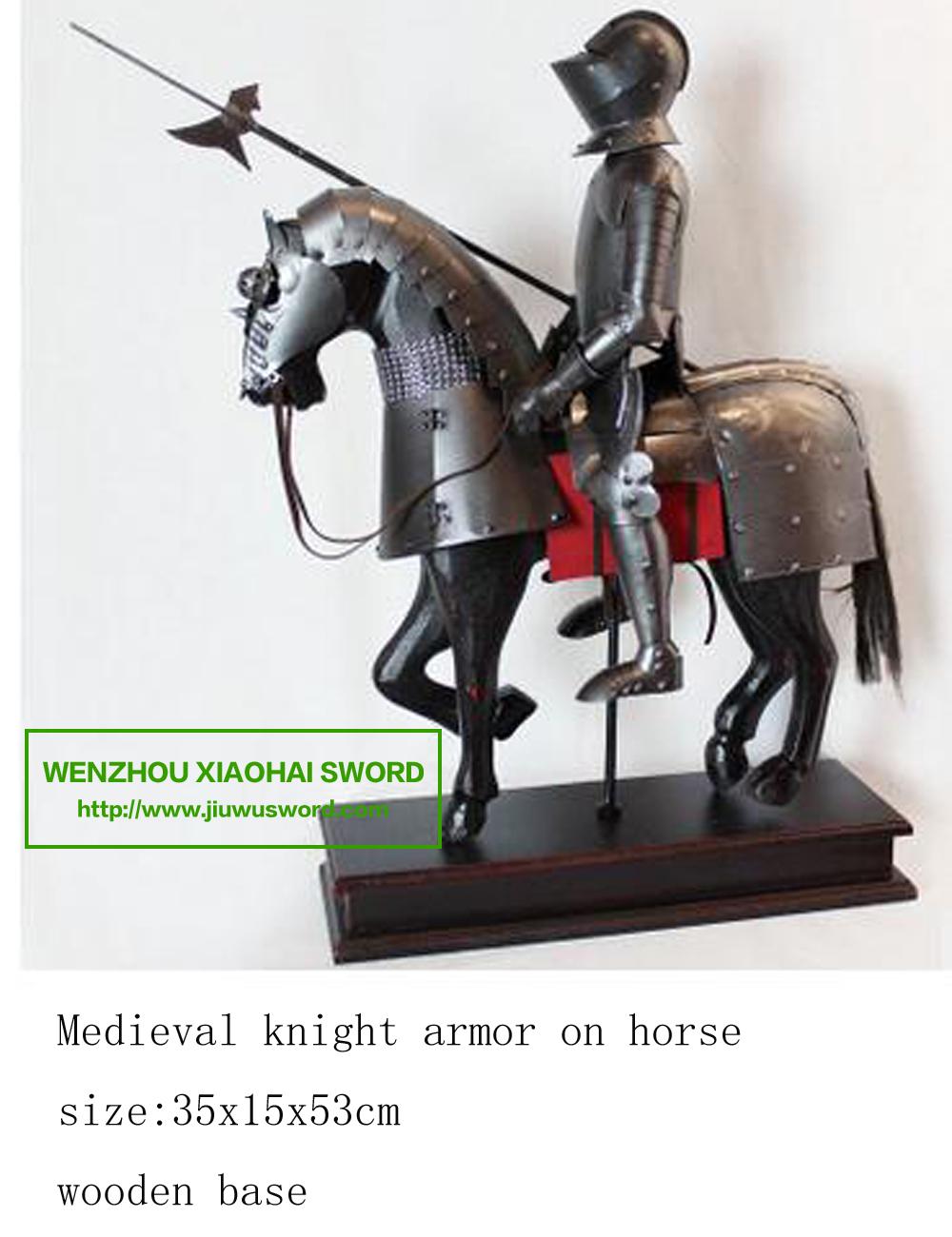 Mini Medieval Knight Armor Riding Horse 95u7012 - Buy Medieval Horse ...