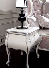 New Classic White Night Stand, Antique White Night Table