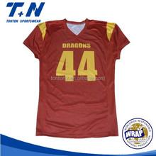 mesh fabric football shirt maker soccer jersey
