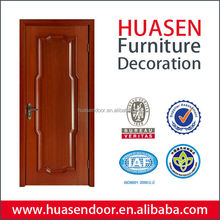 Villa main entry wood veneer door