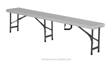 6ft rectangle blow mold camping event folding bench