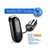 Cheap multi-functional waterproof IP65 micro gps tracker with Geo fence