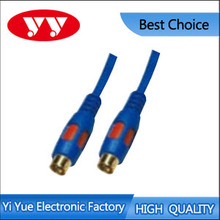 RCA jack to RCA jack audio interconect cable