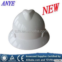 MSA's Full Brim Safety helmet t with CE and ANZI certificates