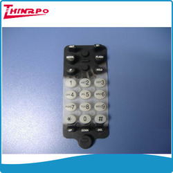 Customized rubber silicone push button cover