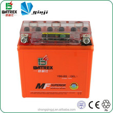 Children Motorcycle Battery Prices 12v 9ah Motorcycle Battery for YB9-BS
