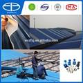 Material de pvc cubierta de teja de techo