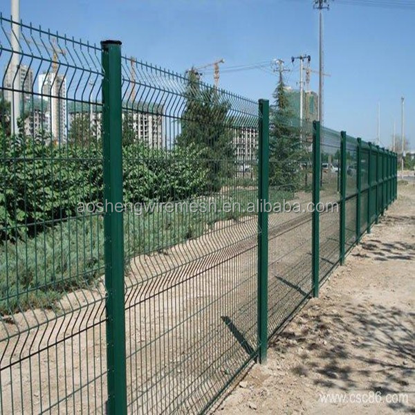 Wire mesh fence designs for boundry wall with pvc coated