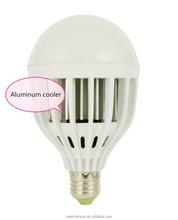 Aluminum and Plastice 15W LED bulb E27 lamp