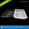 Dongguan food use and hot sale disposable customized rectangular microwave blister tray
