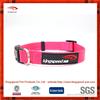 cheap dog collar wholesale rubber logo