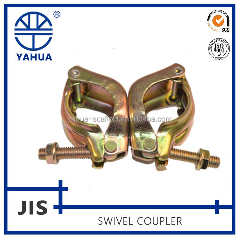 Durable échafaudages pressé réglable en acier tuyaux pinces
