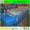 double layer galvanized sheet metal roof tile cold roll forming machine