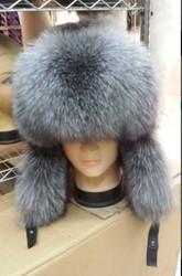 New Man Real Fox Fur Hat Russian Style Winter Warmer Ear Cap