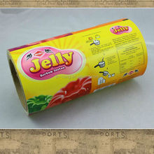 Laminated food packaging bag pouch food packaging film in roll