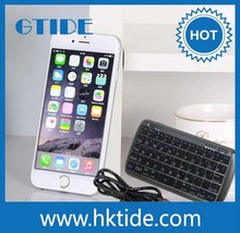 Gtide Patent Design Mini Ultra-thin Qwerty Wireless Bluetooth Keyboard with Powerbank For iOS/Android/Windows